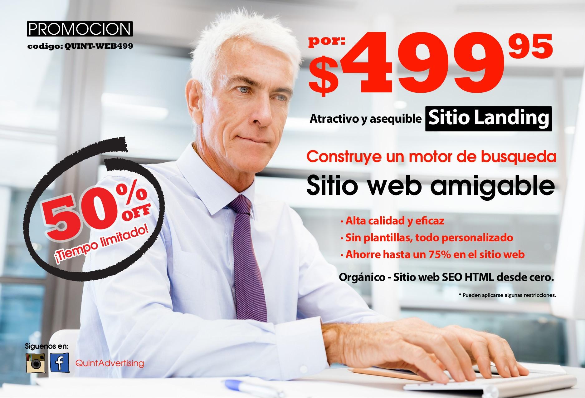 QuintAdvertising-PromoWebsite-499-Spanish